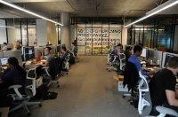 firma, praca w systemie open space